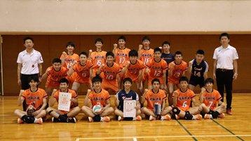 男子バレーボール部 全国高校総体(インターハイ)県予選 初優勝