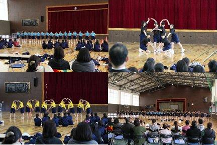 第1学年 授業ダンス発表会を実施しました