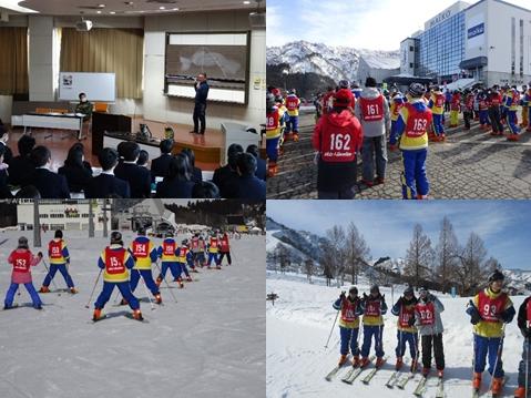 第1学年 スキー教室に行ってきました
