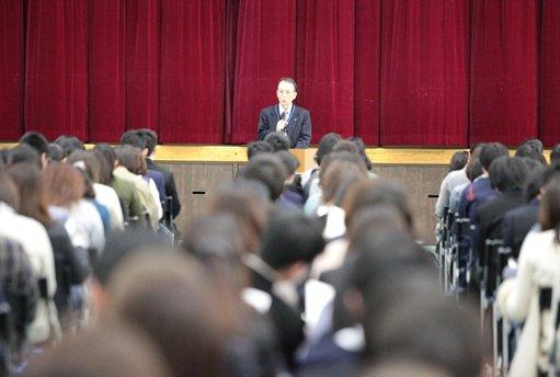 「平成31年度 入学前説明会」を実施しました