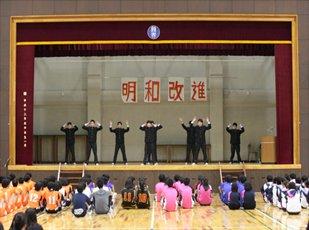群馬県高校総体激励会を行いました。2