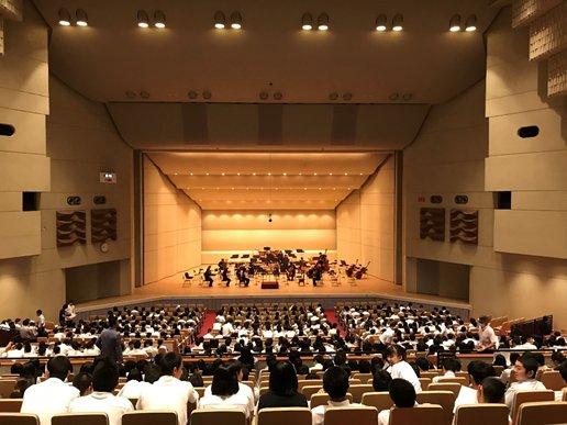 群馬交響楽団高校音楽教室が開催されました。