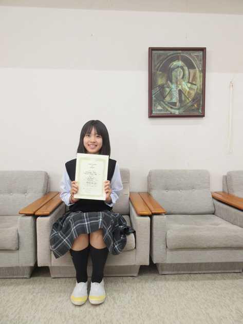 明石杯高校生英語コンテスト高崎支部予選会 2位入賞