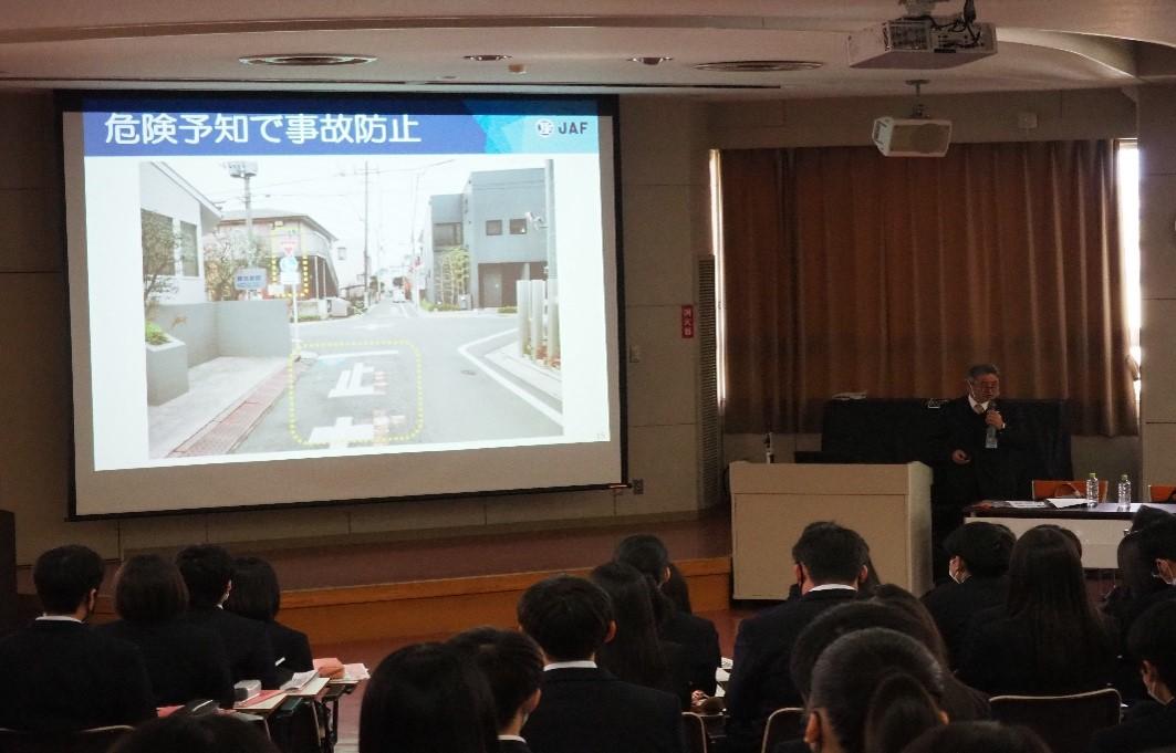 第2・3学年 交通安全教室を実施しました。